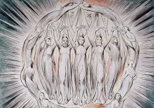 The Annunciation to the Shepherds by William Blake.